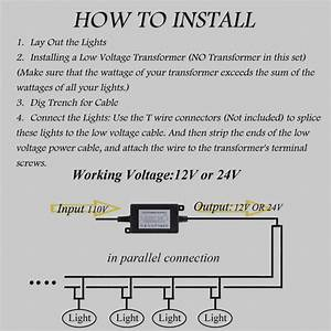 Collection Of Low Voltage Landscape Lighting Wiring Diagram Download