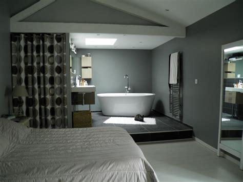 chambre avec bain chambre parents avec salle de bain solutions pour la