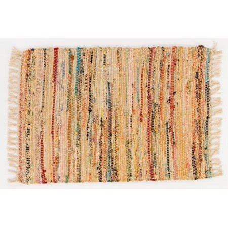 Rag Rugs Walmart by Rag Rug 30 X 50 Honey Woven 100 Cotton Walmart