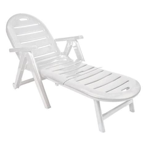 chaise longue en plastique blanc raidro com chaise longue pas cher en plastique obtenez