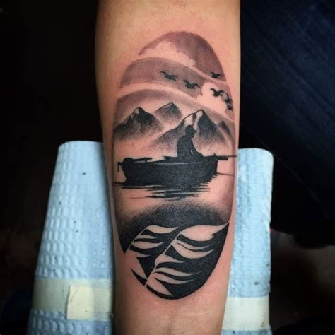 Fishing Boat Tattoo Designs by 25 Best Ideas About Fisherman Tattoo On Pinterest
