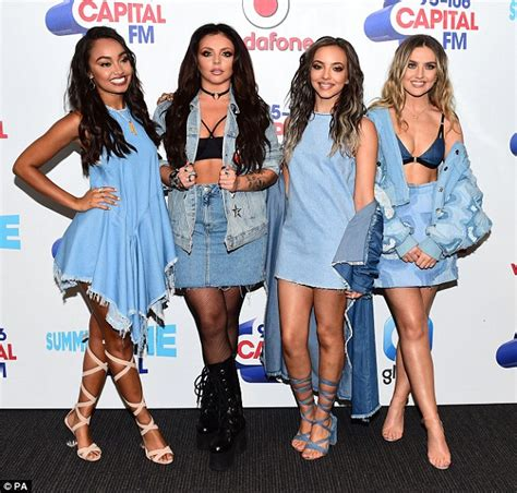Little Mix's Perrie Edwards wears sexy bralet for Capital ...