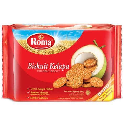 jual roma biskuit kelapa 300 gr toko dua putra