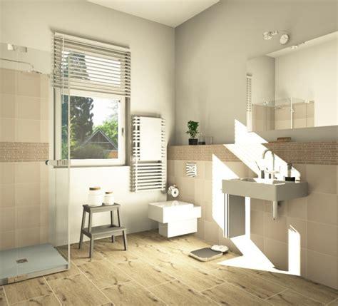 Badezimmer Fliesen Gestalten by Fliesen In Holzoptik Badezimmer Wohnlich Gestalten