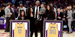 Kobe Bryant, His Wife And Beautiful Daughters All Watched ...