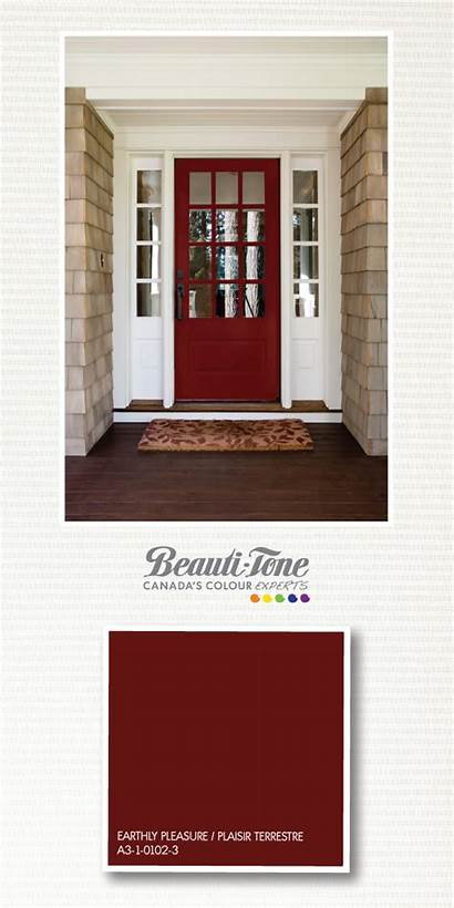 Paint Door Colors Doors Exterior Wine Rich