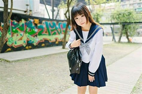 japanese girl seifuku  cute image