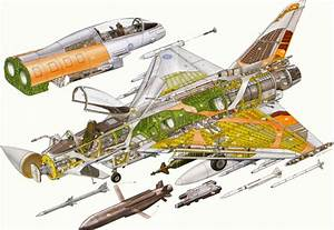 Eurofighter Typhoon Cutaway Drawing In High Quality