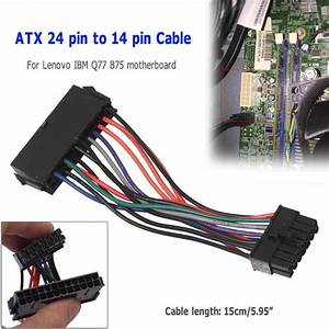 14 To 24 Pin Adapter : atx 24pin to 14pin adapter power cable cord for lenovo for ~ Jslefanu.com Haus und Dekorationen
