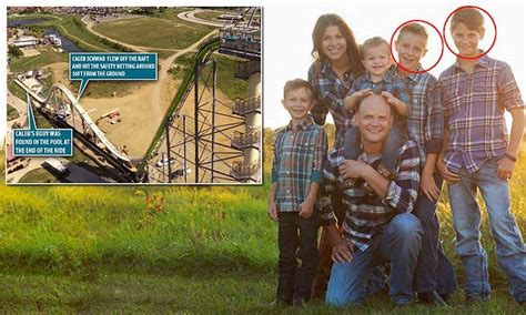 Brother of boy decapitated on water slide cheated death