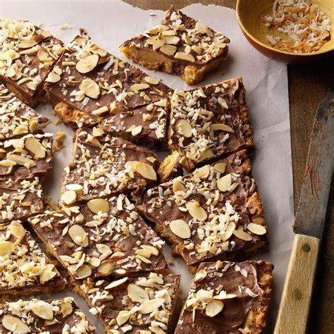 coconut almond cookie bark recipe     taste