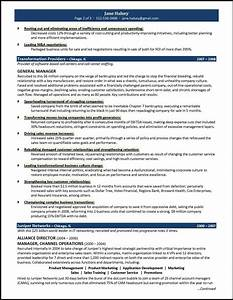 general manager resume example for a ceo gm candidate With general resume