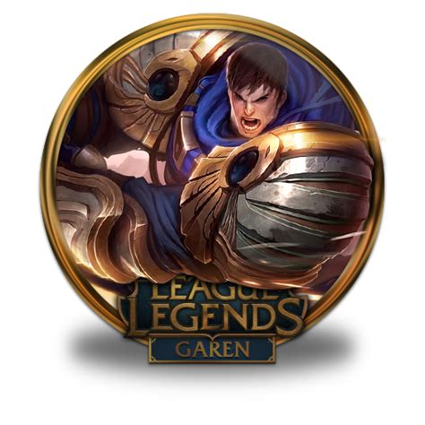 Garen Visual Upgrade Icon League Of Legends Gold Border