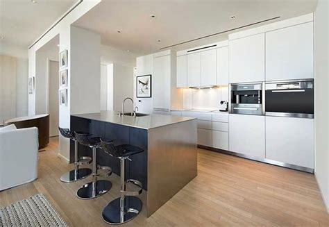 white kitchen cabinets black island 26 small kitchens with white cabinets designing idea 1792