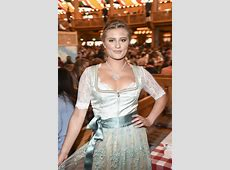 Luna Schweiger at Oktoberfest in Munich – Celeb Donut