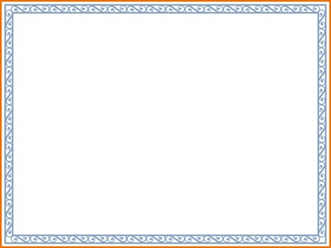 Free Certificate Border Templates For Word Costumepartyrun