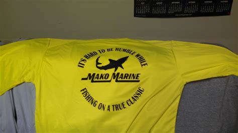 Mako Boats T Shirts by New Sleeve Microfiber T Shirts For The Proud Mako