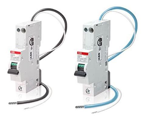 dse201 eln rcbo 6ka residual current circuit breaker with overcurrent protection rcbo