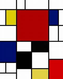 Cuadro Abstracto Moderno: MONDRIAN I CuadrosGuapos