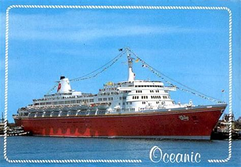The Open Boat Published by Oceanic Of Home Lines Postcards