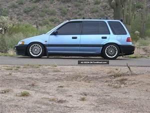 89 Honda Civic Wagon