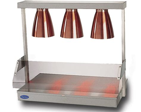 Victor Manufacturing Ltd Hot Plate Triple Lamp