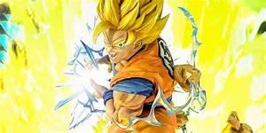 Megahouse Dragon Ball Z Goku Super Saiyan Statue