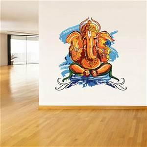 Shop Indian Elephant Painting on Wanelo