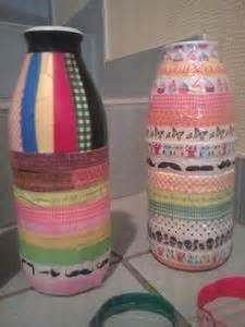 Vases En Bouteilles De Lait Recycles Les Ides Dco De