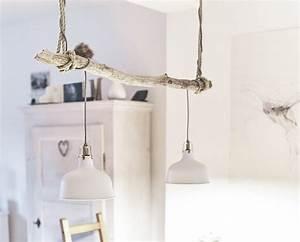 Treibholz Lampe Decke : vintage treibholz lampe selber bauen simple anleitung ~ Frokenaadalensverden.com Haus und Dekorationen