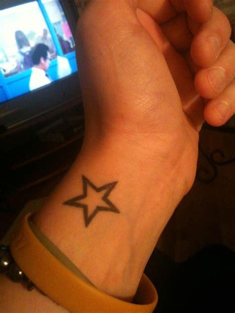 28+ [ Star Tattoo Wrist ]  Stars Tattoos For Wrist,star