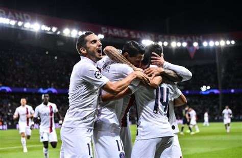 Hasil PSG vs Real Madrid: Di Maria Bikin Parc des Princes ...