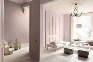 Nuance De Rose : peinture salon nuance rose glycine rose poudre ~ Melissatoandfro.com Idées de Décoration