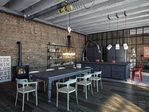 Industrial Style Kitchen Design Ideas (Marvelous Images)