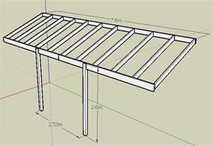 pergola beams rafters please help with spans sizes