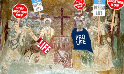 crystal clear pro life quotes   early church