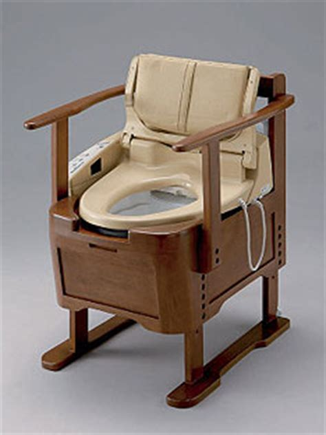 Portable Potty Chair For Adults In India by Portable Smart Toilet Ubergizmo