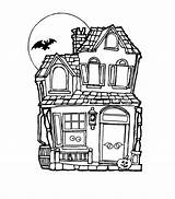 Coloring Haunted Pages Drawing Printable Houses Simple Mansion Colouring Easy Bestcoloringpagesforkids Sheets Mansions Getdrawings Popular sketch template