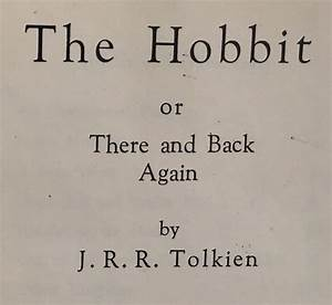 Hobbit First Edition Joins Tolkien Collection // Raynor ...