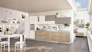 Cucine: tutto su una parete (o quasi) Cose di Casa
