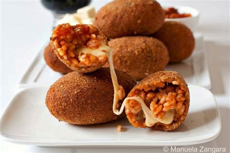 cuisine italienne recette supplì au téléphone croquettes ovales de riz la