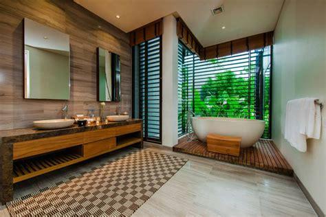 thai style villa sarawin  sweeping bay views