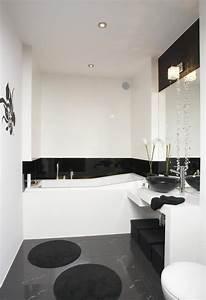 Badezimmer Fliesen Weiß : kleines bad gestalten farben ideen schwarz wei graue ~ Lizthompson.info Haus und Dekorationen