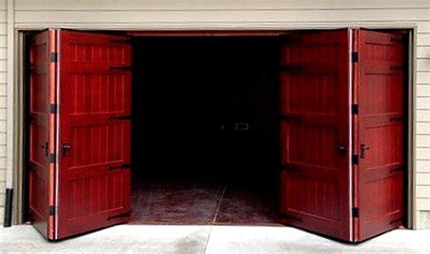 Large Exterior Doors bifold doors weatherproof wood garage door non warping