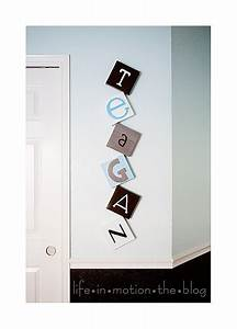 wall letters just because it says teagan it is pretty With cool wall letters