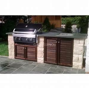 grill kuche im garten bauen mit hausgarten schmidt With garten planen mit balkon grill weber