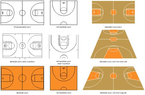 design elements basketball courts