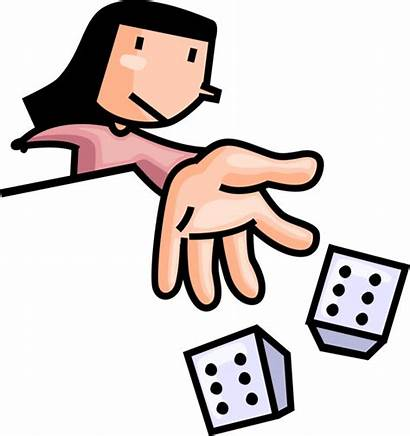 Dice Rolling Clipart Games Roll Clip Transparent