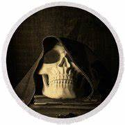Creepy Hooded Skull Photograph by Edward Fielding