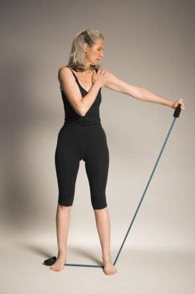 Resistance Bands Exercises For Trap Muscles Woman